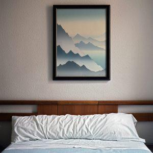 schilderijen slaapkamer